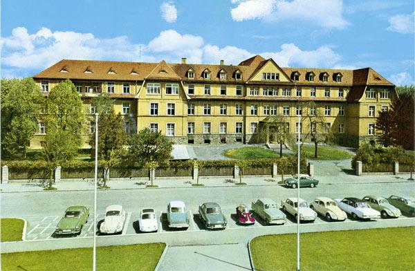 Das alte Villinger Krankenhaus.